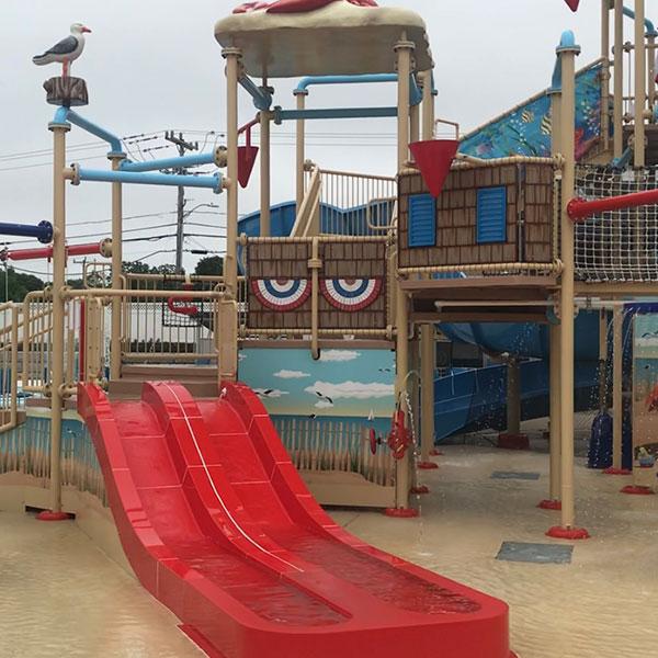 Summer house slides