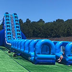 Cape Cod Inflatable Park Challenge Zone