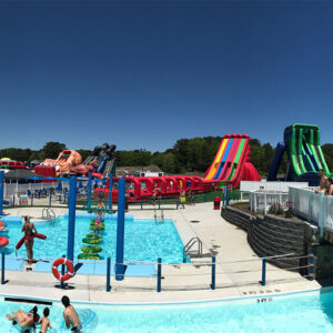 Cape Cod inflatable park pool