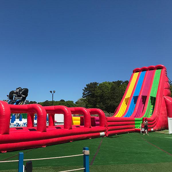 Cape Cod inflatable park ride
