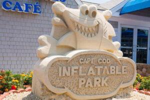 Cape Cod Inflatable Park Sign