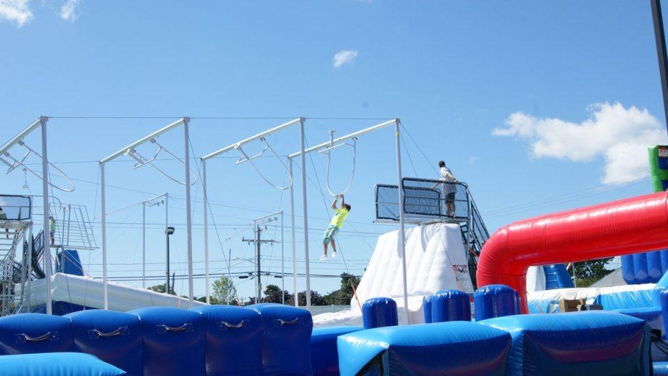 Challenge Zone Rides | Cape Cod Inflatable Park