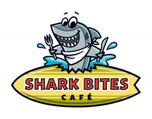 Shark Bites Cafe logo